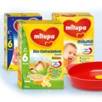 kostenlose Proben von Milupa