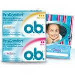gratis Probenpaket von o.b.
