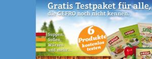 gratis Gefro Proben