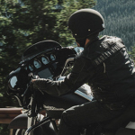 Testaktion mit Harley