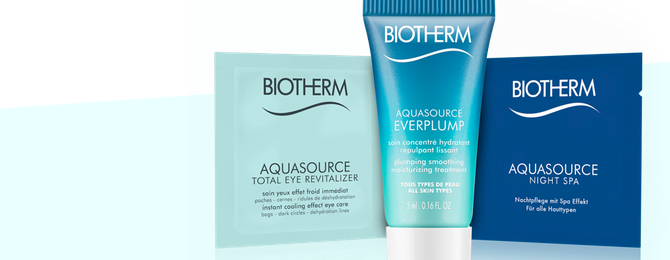 gratisprobe von Biotherm