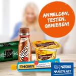 Nestle Produkte testen