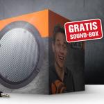 kostenlose Sound Box bestellen