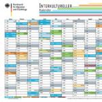 kostenloser Kalender 2018