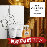 Produkttester für Chanel No 5
