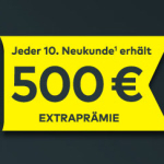 500,-euro für jeden 10. Neukunden