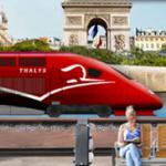 mit der Bahn nach Paris