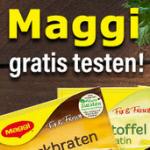 Maggi kostenlos testen
