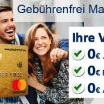 kostenlose Kreditkarte bestellen
