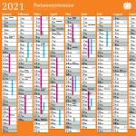 kostenlose Kalender 2021