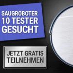 Tester für Saugroboter werden