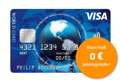 gratis Visa Card