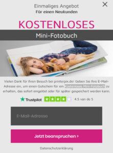 Fotobuch gratis bestellen